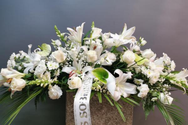 Envío de centros de flores a tanatorios en asturias