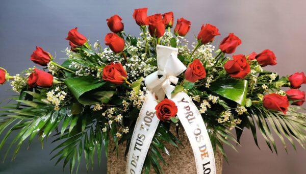 Envío de centros de flores a tanatorio en asturias