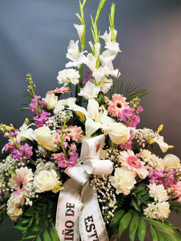 centro de flores para tanatorio en asturias