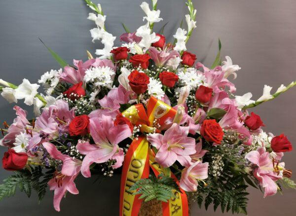 centro de flores en asturias
